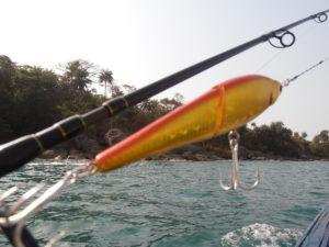 Pêche en Guinée avec les caores