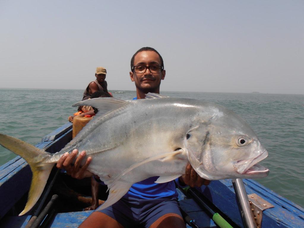 Pêche en Guinée avec les caorès