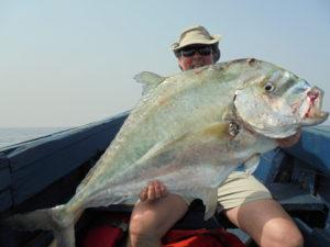 Pêche en guinée Conakry avec les caorès
