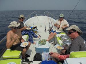 Pêche en guinée Conakry avec les caorès,