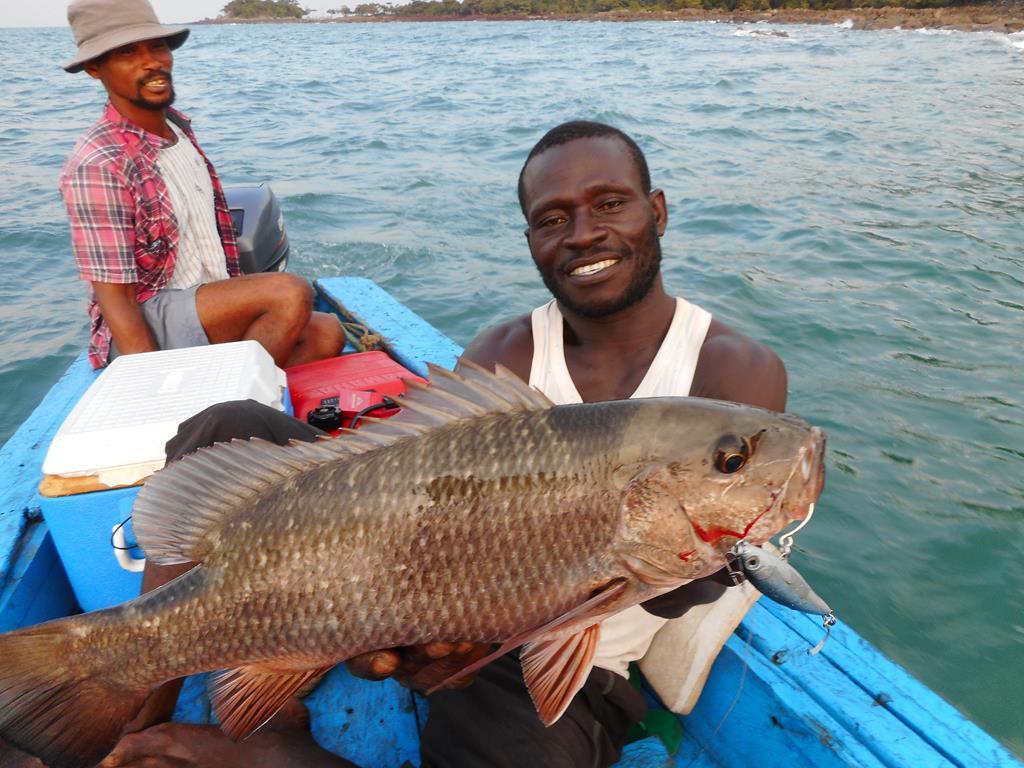 Conakry fishing trip décembre