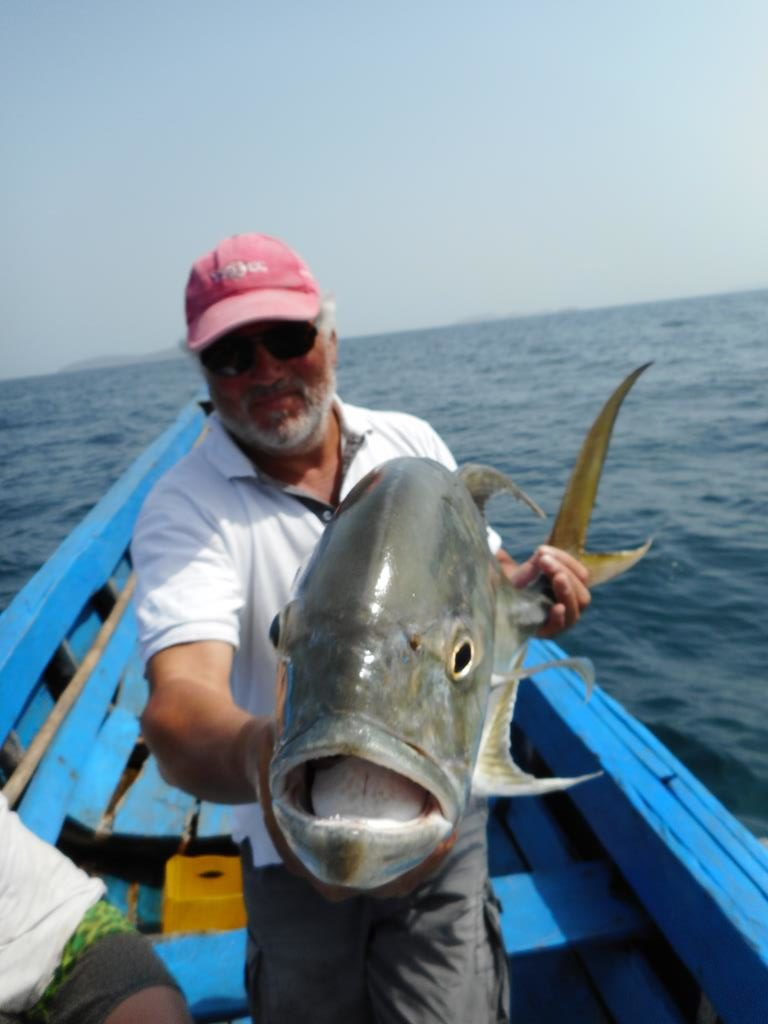Fishing trip mars 2020
