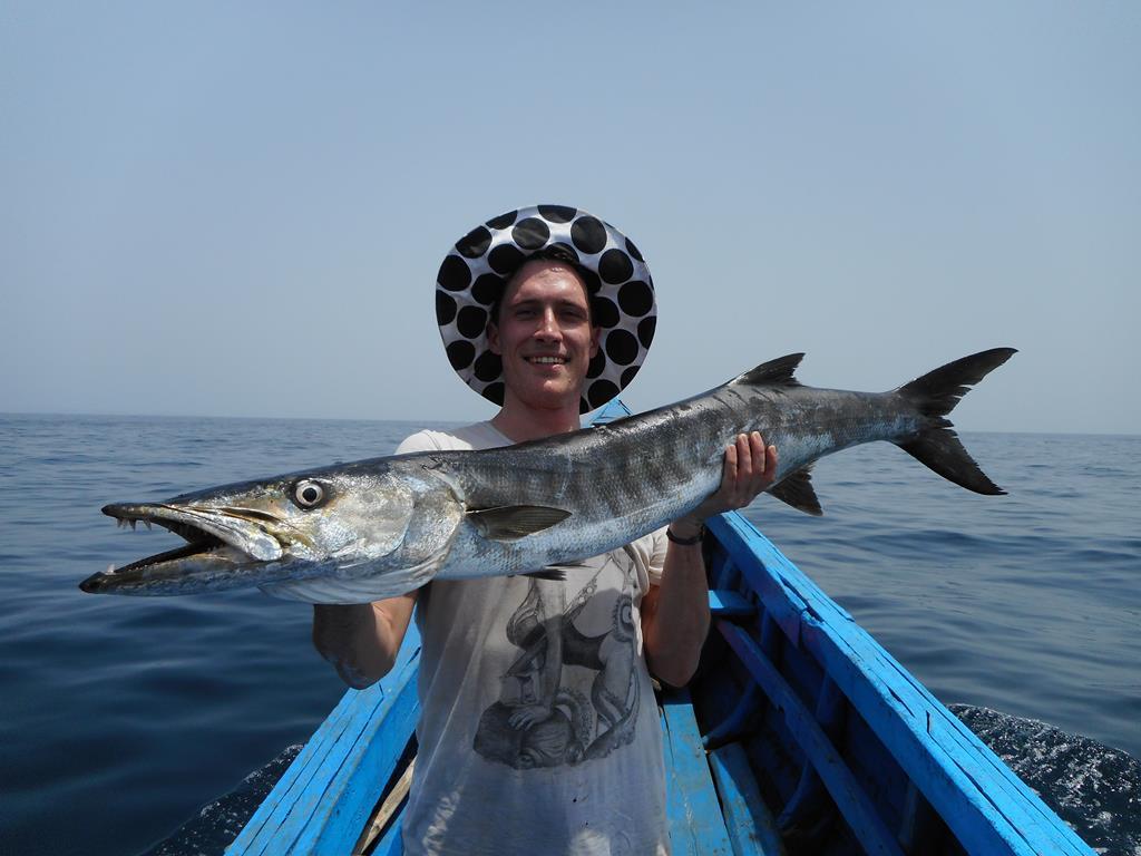 Fishing trip mars 2020 Barracuda avec lescaores.com